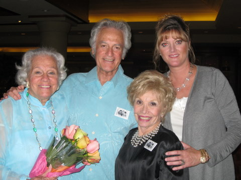 Betty Barker, Bill Marx, Gloria, and Lori Segal