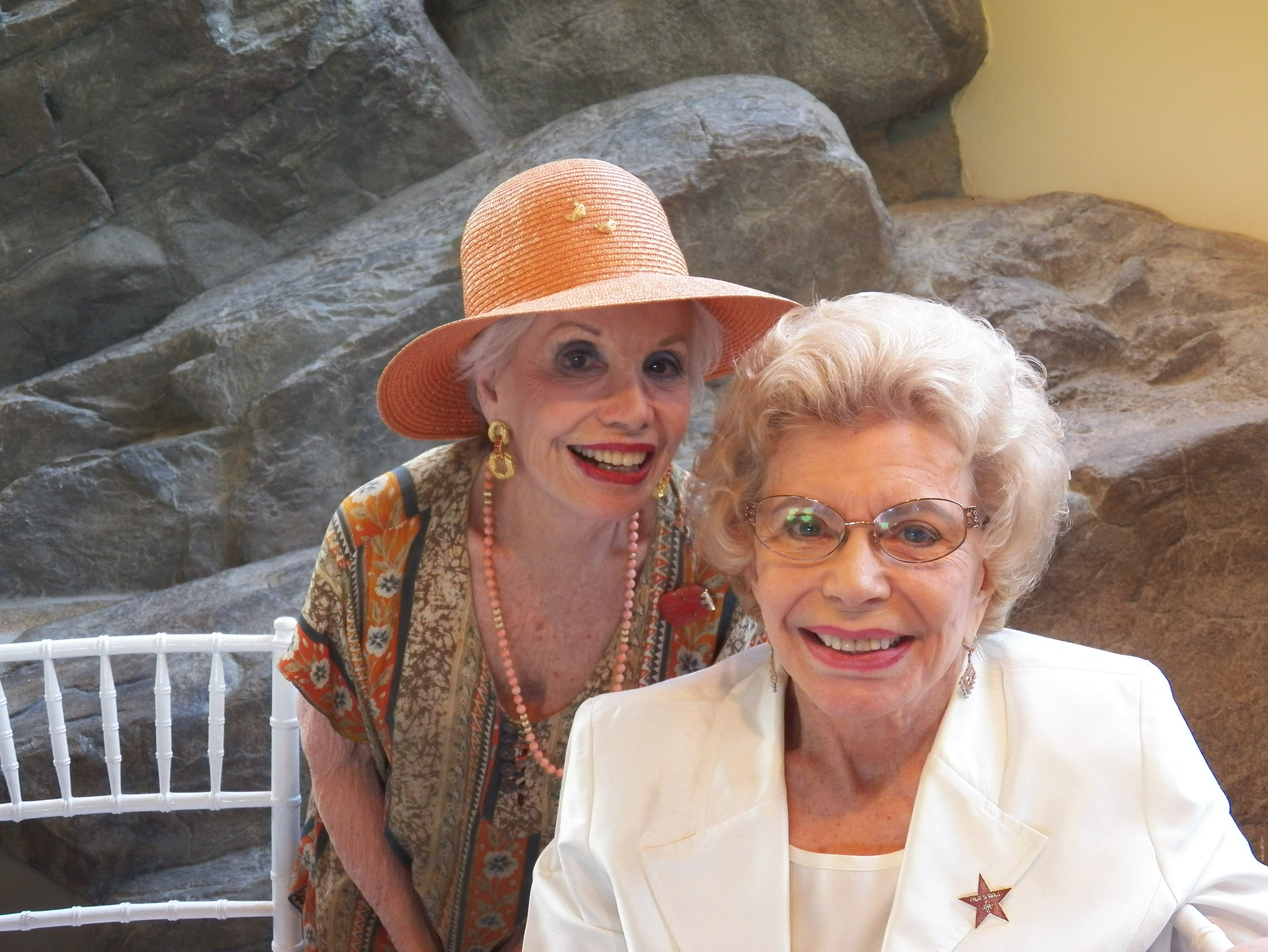 Gloria Greer and Betty Francis