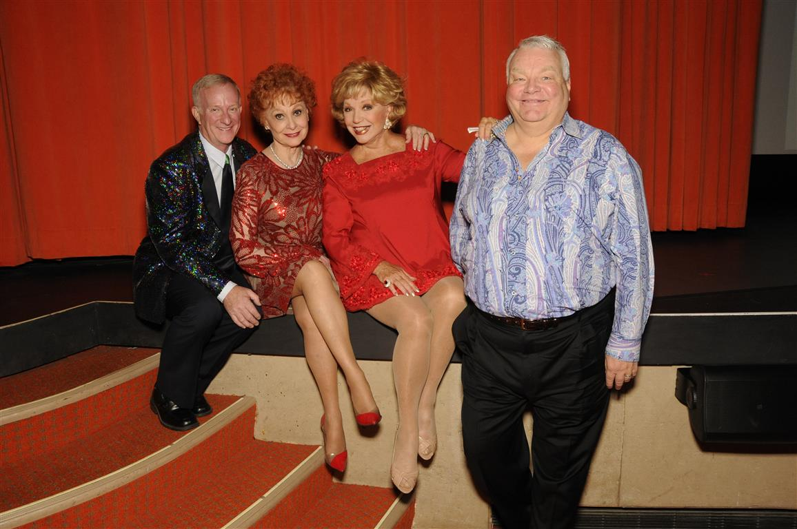 Mark Anton, Carol Lawrence, Ruta Lee, and Michael Leppen