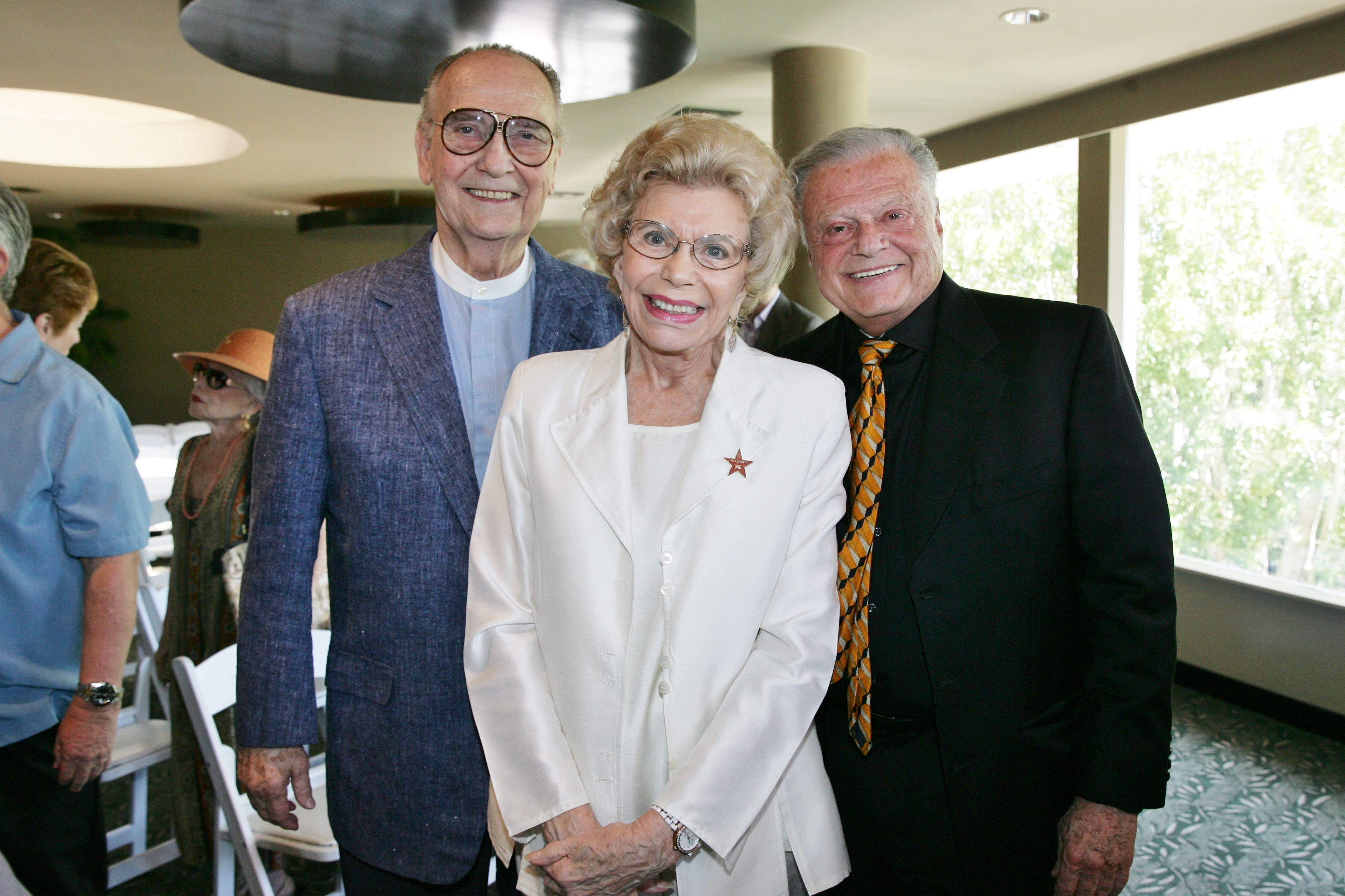 Jim Houston, Betty Francis and Harold Matzner
