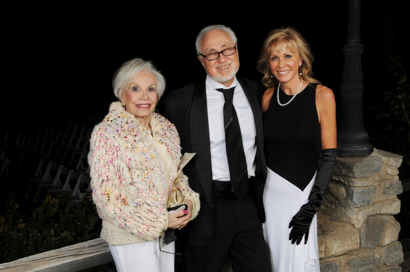 Gloria with Andrew & Diane Neiderman