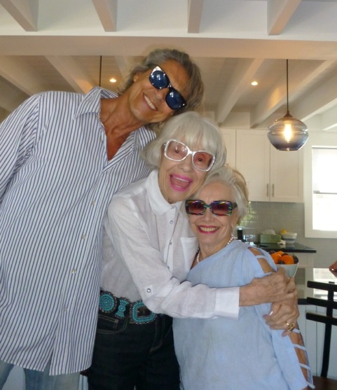 Tommy Tune, Carol Channing, & Gloria - Fire Island