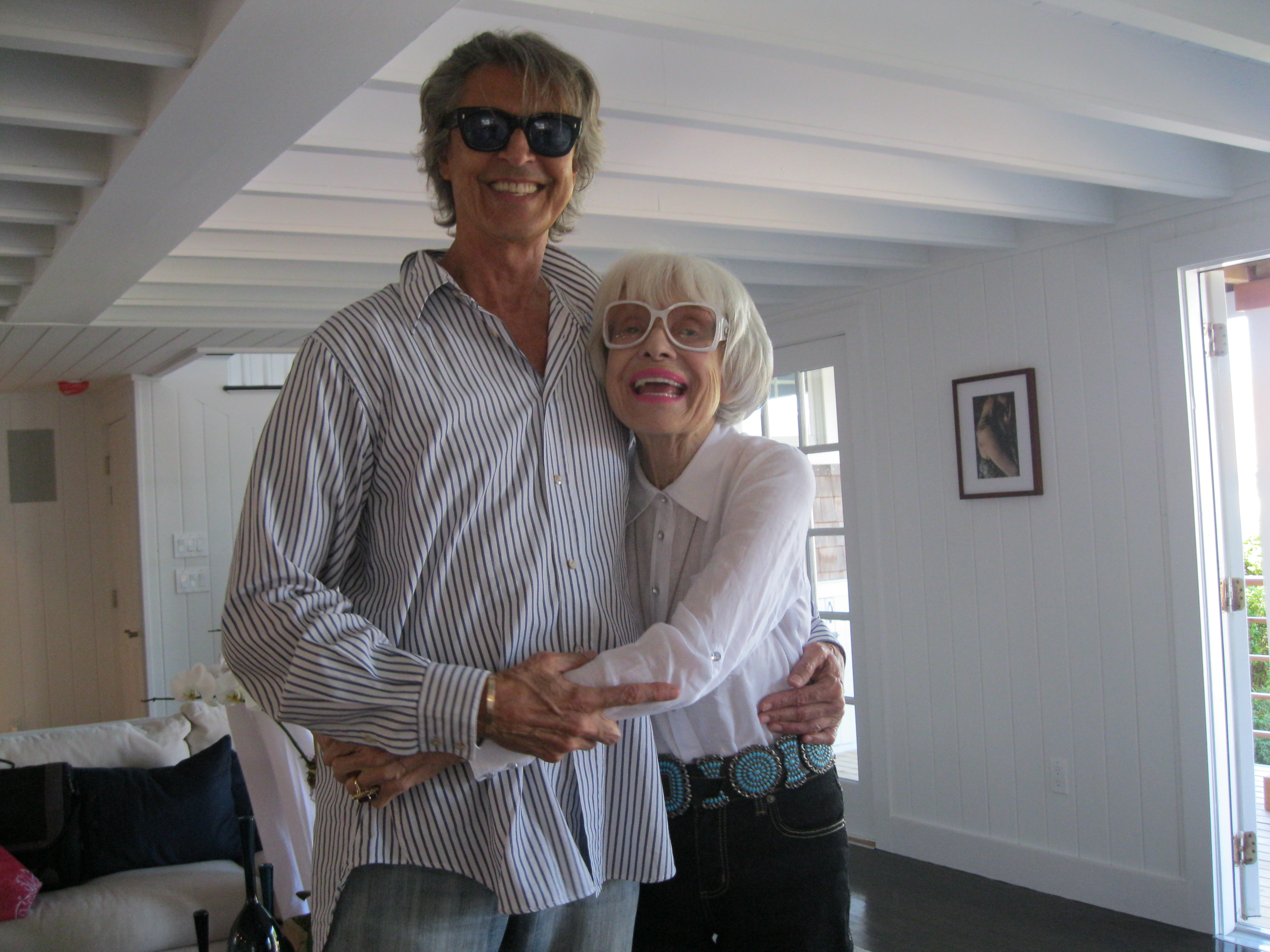 Carol Channing and Tommy Tune