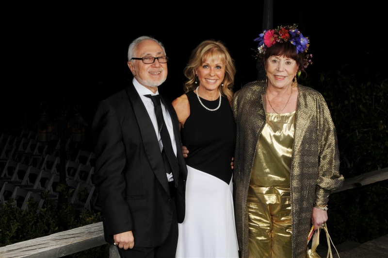 Andrew & Diane with Robin Montgomery