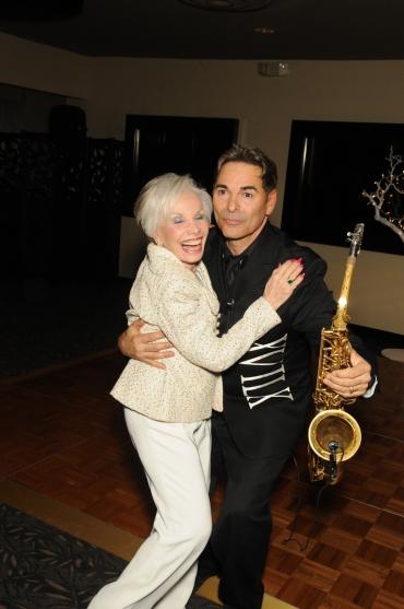 Gloria dancing with