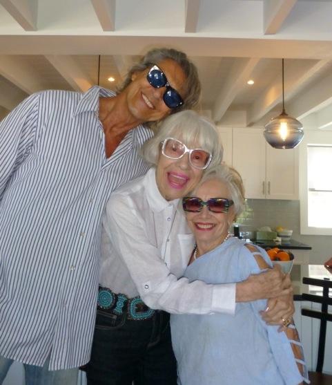 Tommy Tune, Carol Channing, & Gloria - Fire Island
